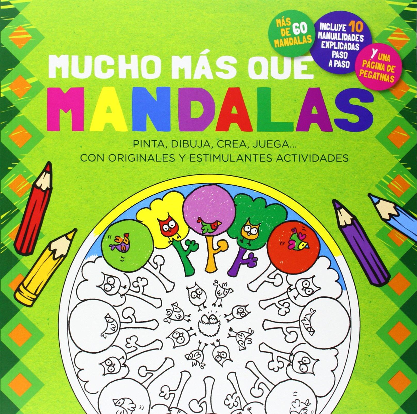 Mucho m�s que mandalas (Spanish) Paperback