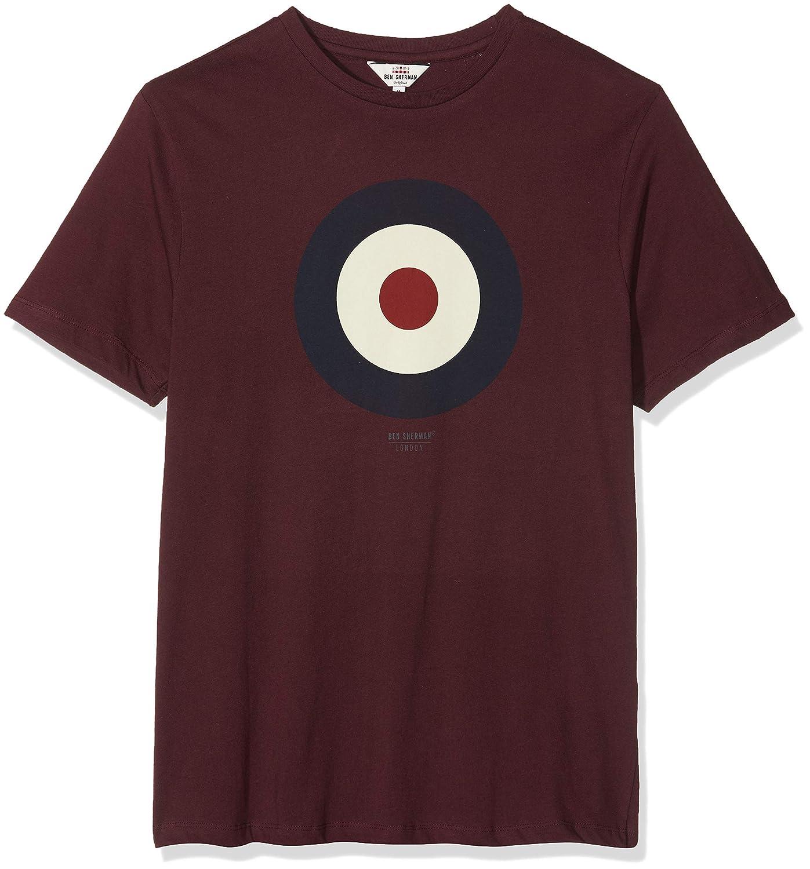 Ben Sherman The Target T-Shirt Camiseta para Hombre: Amazon.es ...