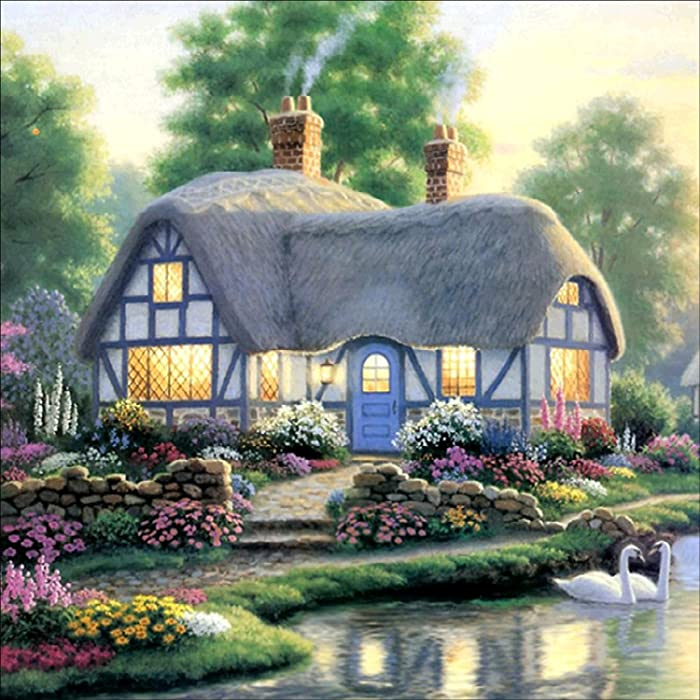 Top 10 Garden Cottage By Thomas Kinkade Diamond Painting