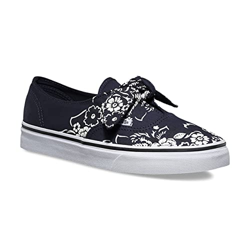 Vans Tenis Authentic Knotted - 3MU2U6H - Azul Marino - Mujer - (Floral  Bandana) 57f72a53769