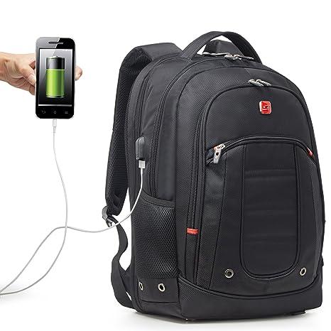 "Soarpop BB4341XL Scansmart Mochila para Ordenador portátil 17,3"" con Puerto USB"