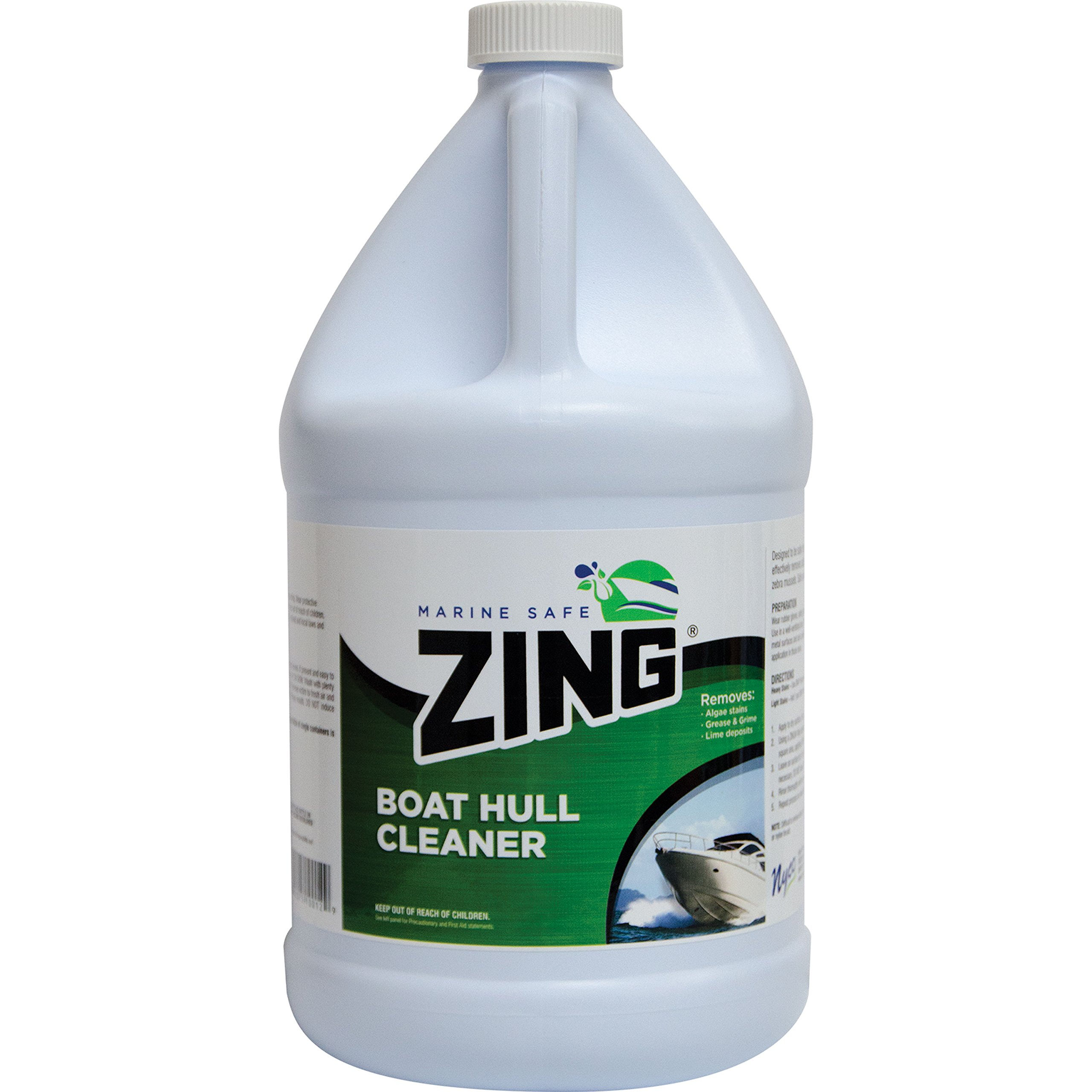 ZING 10118 Marine Safe Boat Hull Cleaner - 1 Gallon