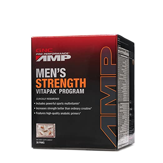 GNC AMP Men's Strength