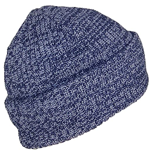 Best Winter Hats Adult 2 Tone Color Thick W Fleece Lined Cuffed Winter Cap ( e343c41be90