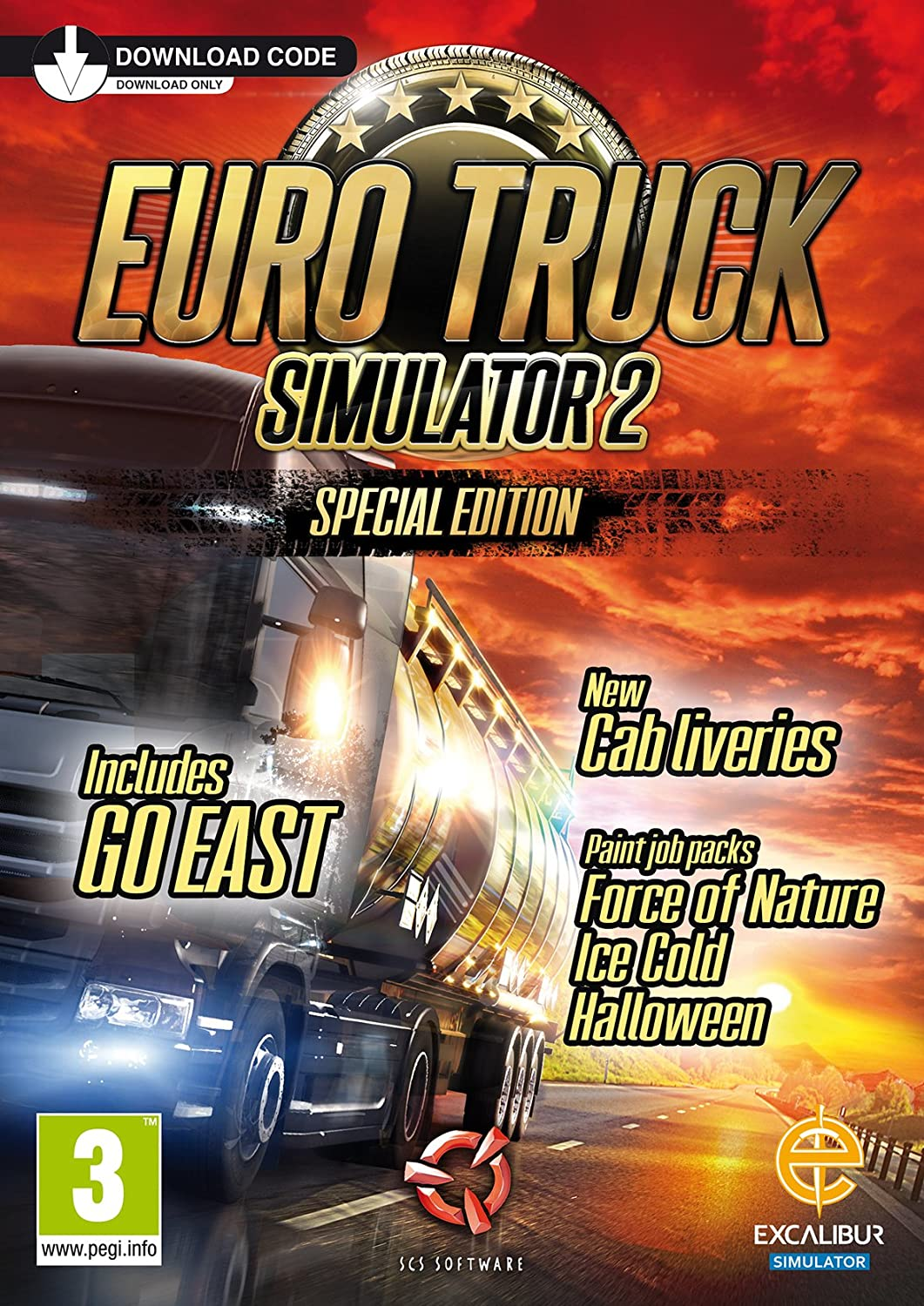 Euro Truck Simulator 2 - Special Edition (Digital Download Card ...