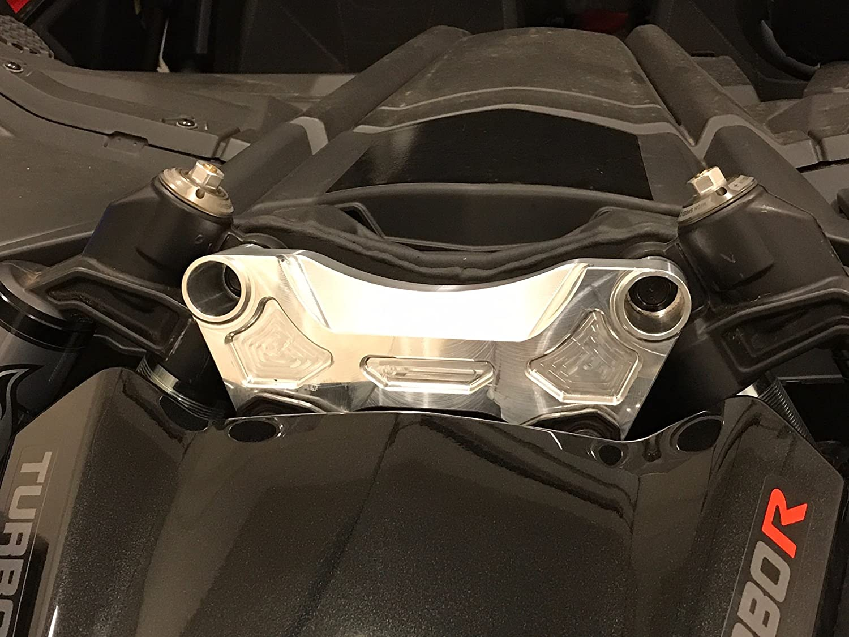 Machined Finish Can-Am X3 Billet Aluminum Front Shock Brace