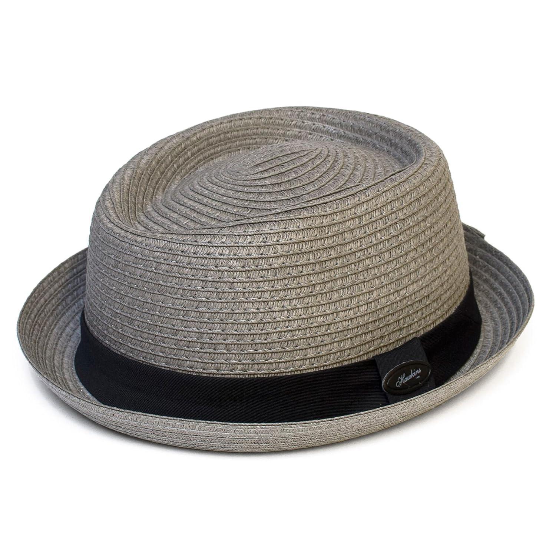 Cappello Pork Pie Tinta Unita effetto Paglia Hat To Socks