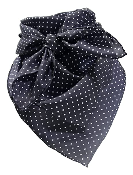 ba69675517f04b Image Unavailable. Image not available for. Color: Black Dot Wild Rag