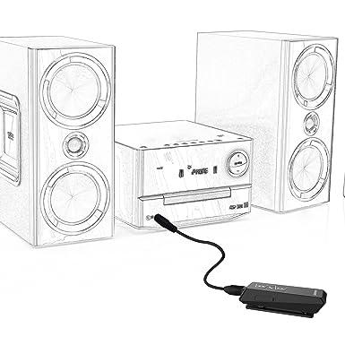 Amazon Com Jabees Bluetooth V4 1 Music Receiver Stereo Headphones