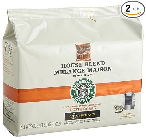 Starbucks casa mezcla de café (Tamaño Mediano), 12-Count T ...