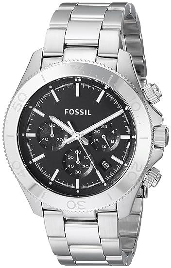 Fossil CH2848 - Reloj (Reloj de pulsera, Masculino, Acero inoxidable, Acero inoxidable