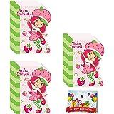 Amazon strawberry shortcake invitations w envelopes 8ct strawberry shortcake birthday party invitations bundle pack of 24 filmwisefo Images