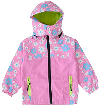 71fc1f126 Amazon.com  KISBINI Girls Windproof Zipper Jackets Hooded ...