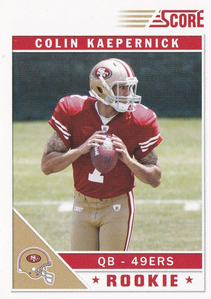 2011スコア – Colin Kaepernick – – – 49ers – Quarterback – – ルーキーカードVHTF。 B00AQGSICA, Butler Verner Sails:e1a64029 --- harrow-unison.org.uk