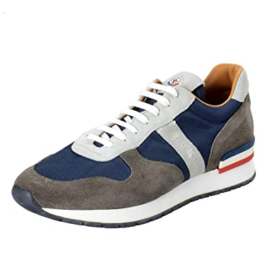 88b1967a0bb Image Unavailable. Image not available for. Color: Moncler Men's Montego  Multi-Color Suede Leather Fashion Sneakers Shoes ...