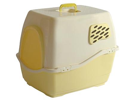 Marchioro Bill 1F - Arenero para gatos con filtro, tamaño pequeño/mediano, color