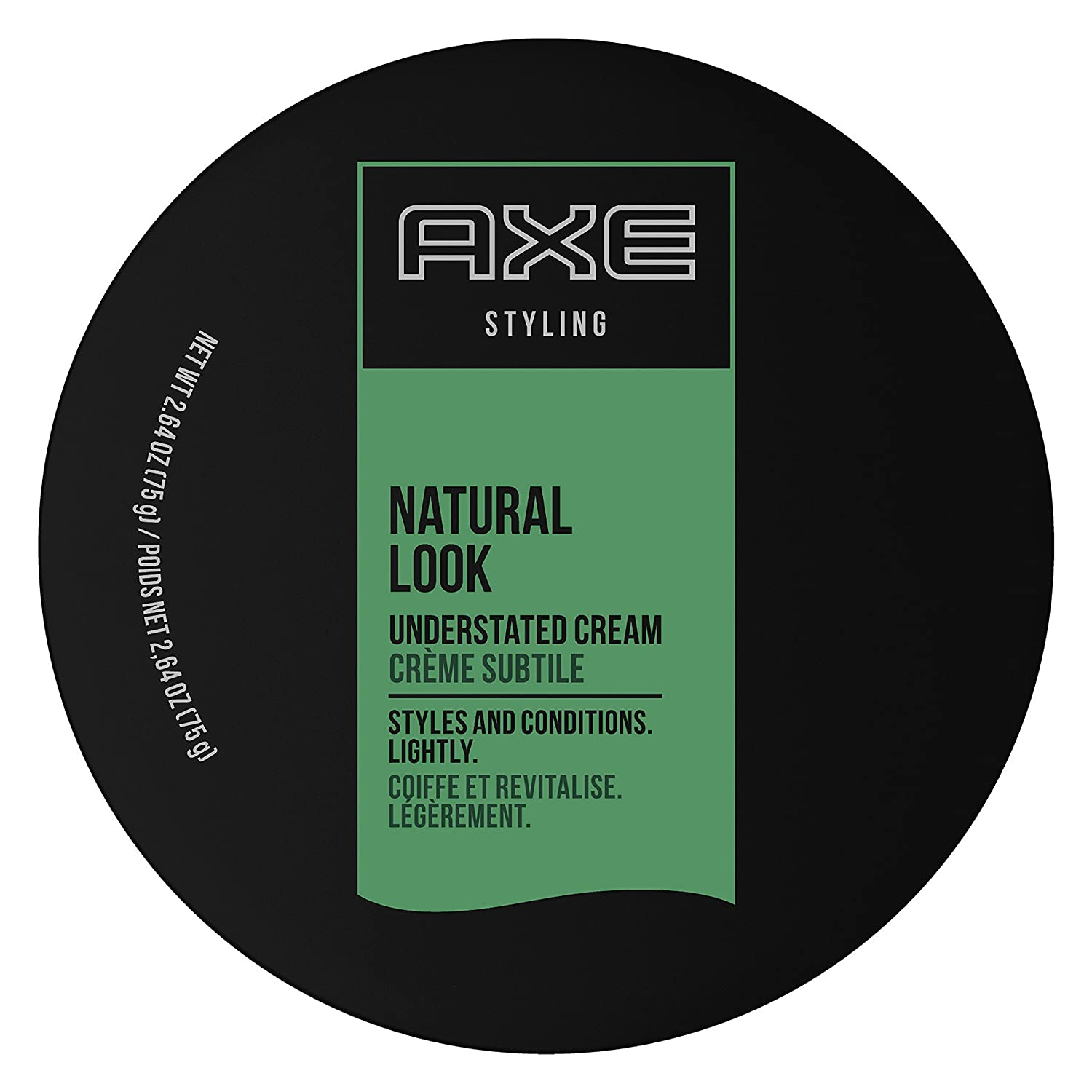 Natural Understated Look Cream by AXE for Men - 2.64 oz Cream 10079400115758