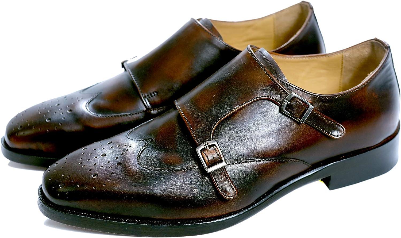 Enzo Syrup Double Monk Shoe