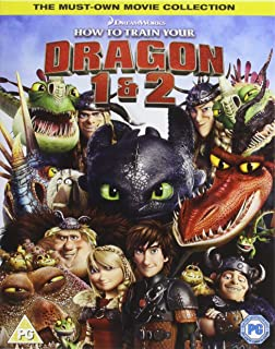 Amazon how to train your dragon jay baruchel gerard butler how to train your dragon 1 2 double pack blu ray ccuart Image collections