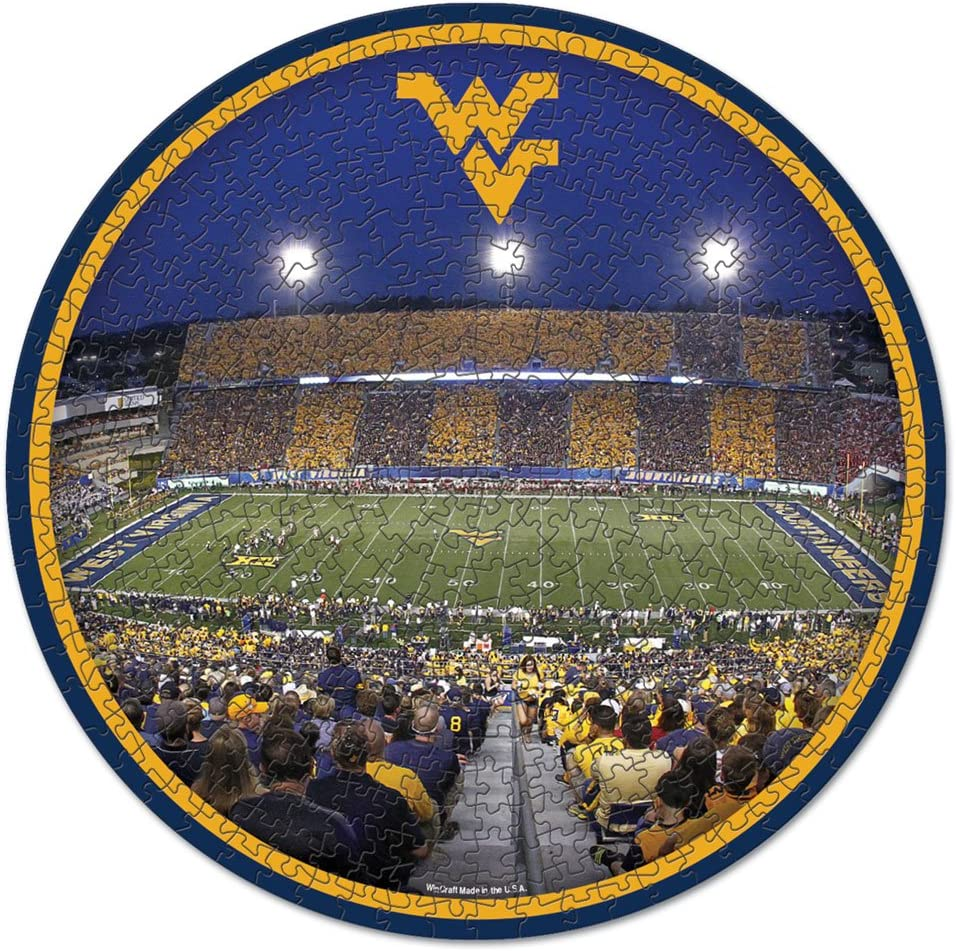 NCAA West Virginia Mountaineers Stadium Puzzle 500-Piece