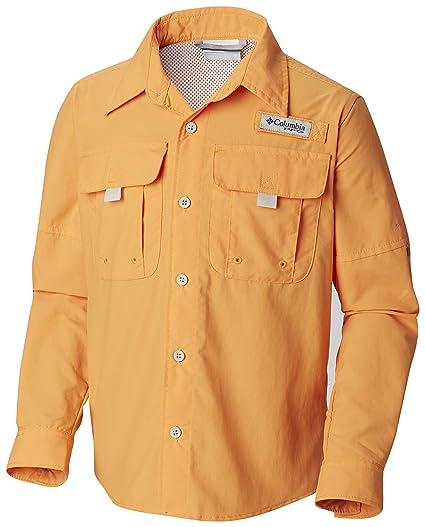 161d6c60f Amazon.com   Columbia Boys Bahama Long Sleeve Shirt   Clothing