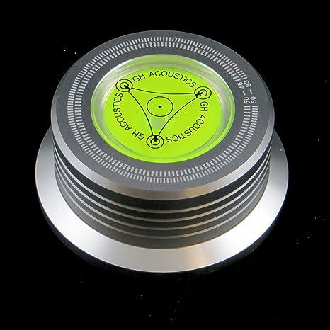 Vinciann Clamp Estabilizador Plato tocadiscos + Estroboscopio + ...