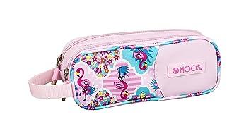 Moos Flamingo Pink Oficial Estuche Escolar 210x60x80mm ...