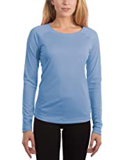 Vapor Apparel Women's UPF 50+ UV Sun Protection Outdoor Quick Dry Long Sleeve T-Shirt