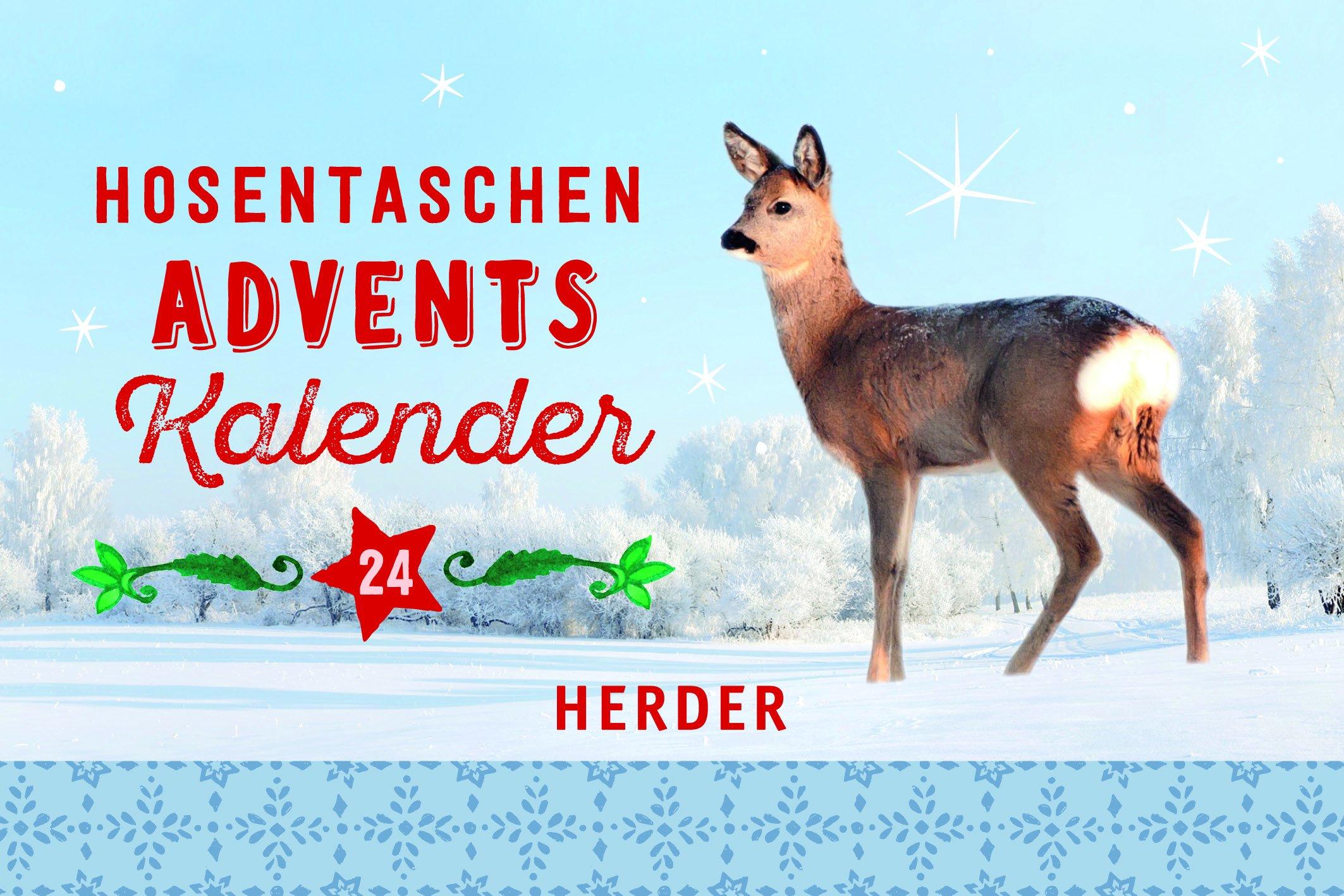 Hosentaschenadventskalender 2018 Kalender – Taschenkalender, 17. September 2018 Verlag Herder 3451381613 Weihnachten Geschenkband