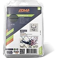 EDMA 43201 Omega 20 nietjes, galva, gelamineerd, grijs