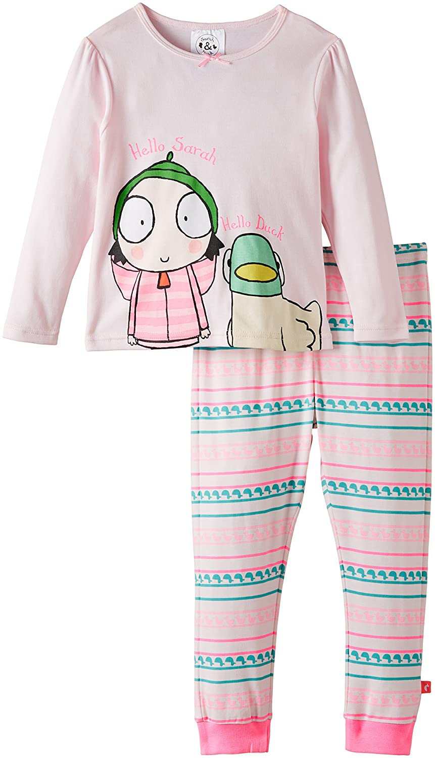 Sarah & Duck Girl's Pyjama Set SDAC2501