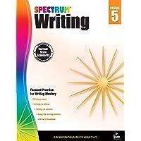 Spectrum | Writing Workbook | 5th Grade, 136pgs