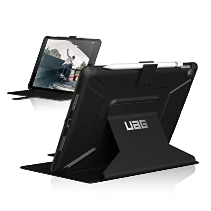competitive price 23d6d ca71c UAG Folio iPad Pro 10.5-inch/iPad Air 10.5-inch (3rd Gen, 2019) Metropolis  Feather-Light Rugged [Black] Military Drop Tested iPad Case