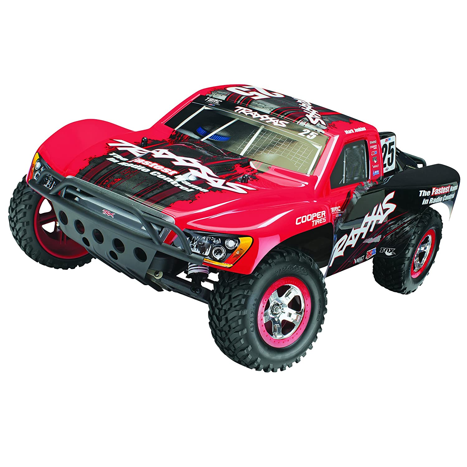 Amazon Traxxas 21 1 10 Slash 2WD VXL RTR with Board Audio Colors May Vary Toys & Games