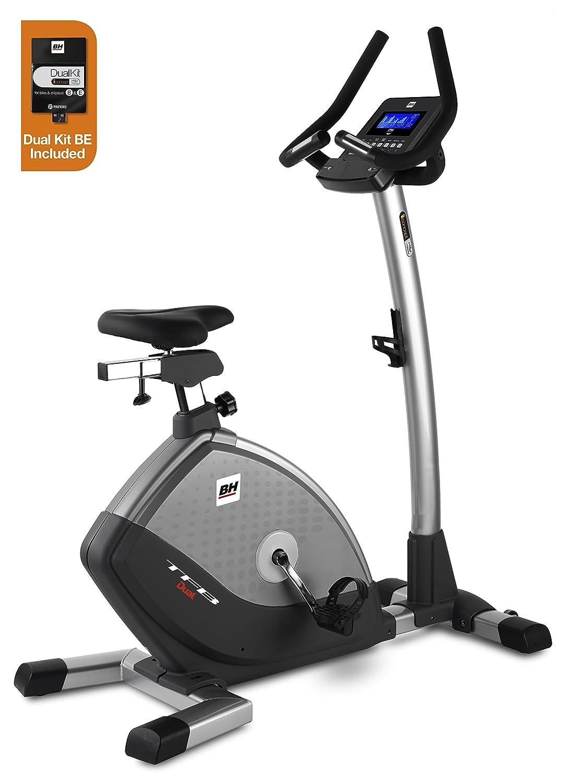BH Fitness - Bicicleta estática TFB Dual + Dual Kit BE: Amazon.es ...