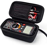 KAIWEETS HT118A Multimeter case Hard Travel Case Replacement with Mesh Pocket for Digital Multimeter TRMS 6000 Counts Volt Me