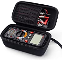 KAIWEETS HT118A Multimeter case Hard Travel Case Replacement with Mesh Pocket for Digital Multimeter TRMS 6000 Counts…