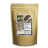 Nurafit Graines de Chia | certifié BIO | 100% organique et végétalien cru | valeur nutritive en crudités de qualité | riche en nutriments et en fibre (1kg)