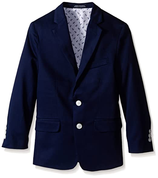 Amazon.com: Nautica Boys Pique Blazer Jacket: Clothing