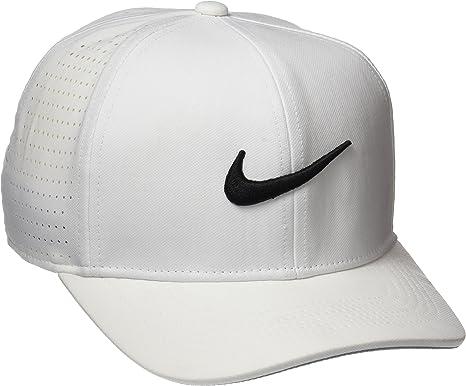 Nike Ya Classic 99, Gorra Unisex de Golf para Jóvenes, Blanco ...