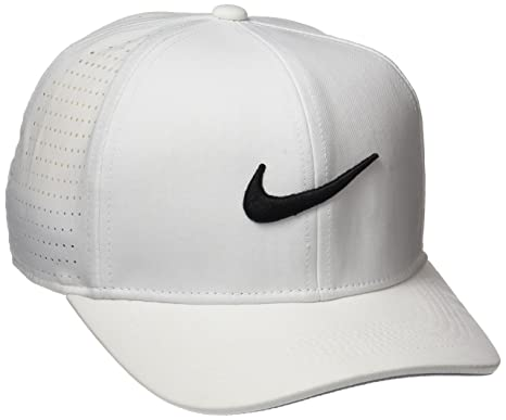 nike Youth aerobill classic99 Athletic Golf hat Adjustable (White)   Amazon.in  Sports 7eceefb913c