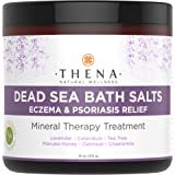 Organic Eczema Soak Bath Therapy For Babies Kids Adults, Best Natural Itch Relief Treatment Soothe Calm Relieve Dry or Itchy Skin, Oatmeal Dead Sea Salt Lavender Essential Oil Calendula Chamomile