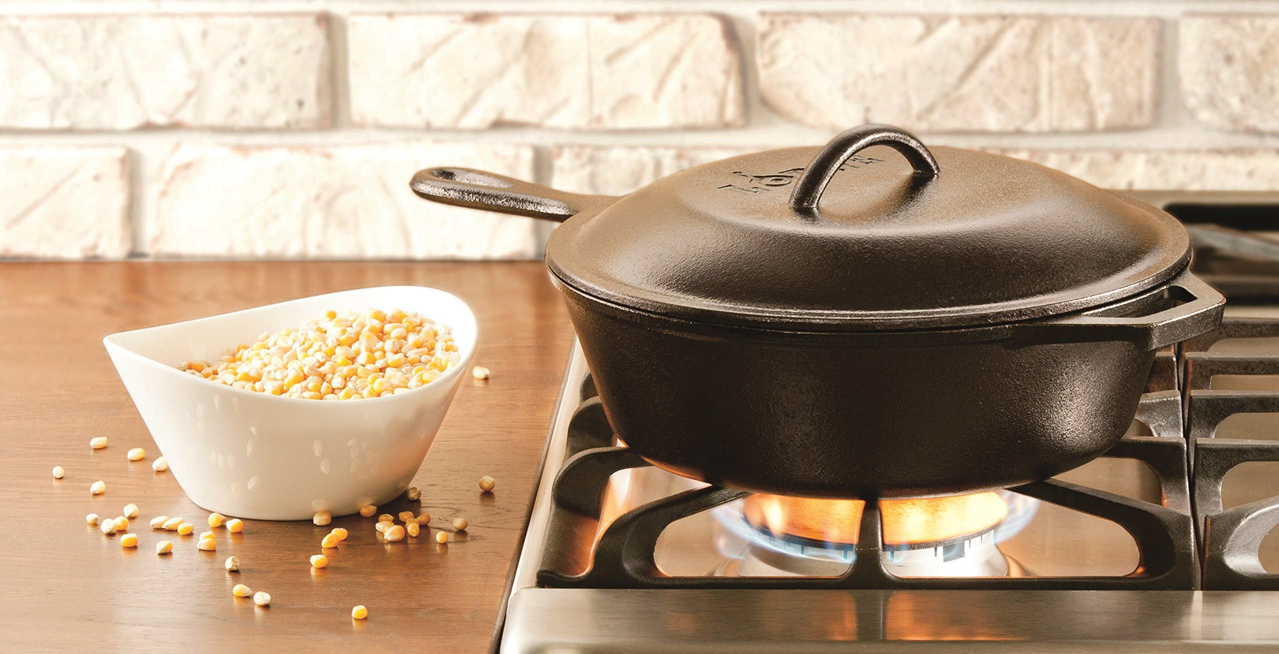 Lodge L5IC3 8-Inch Cast Iron Lid by Lodge (Image #4)
