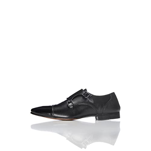 FIND Chaussures Derby à Boucles Homme b5ff451b5a0c