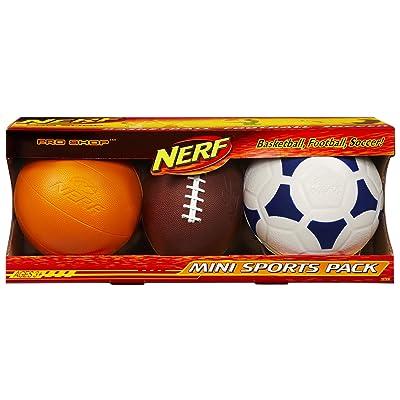 Nerf Pro Shop Mini Sports Pack: Toys & Games