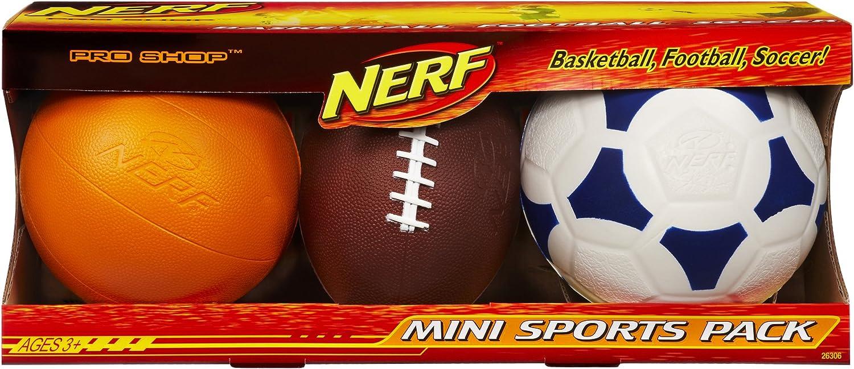 Hasbro Nerf Pro Shop Mini Deportes Unidades: Amazon.es: Juguetes y juegos
