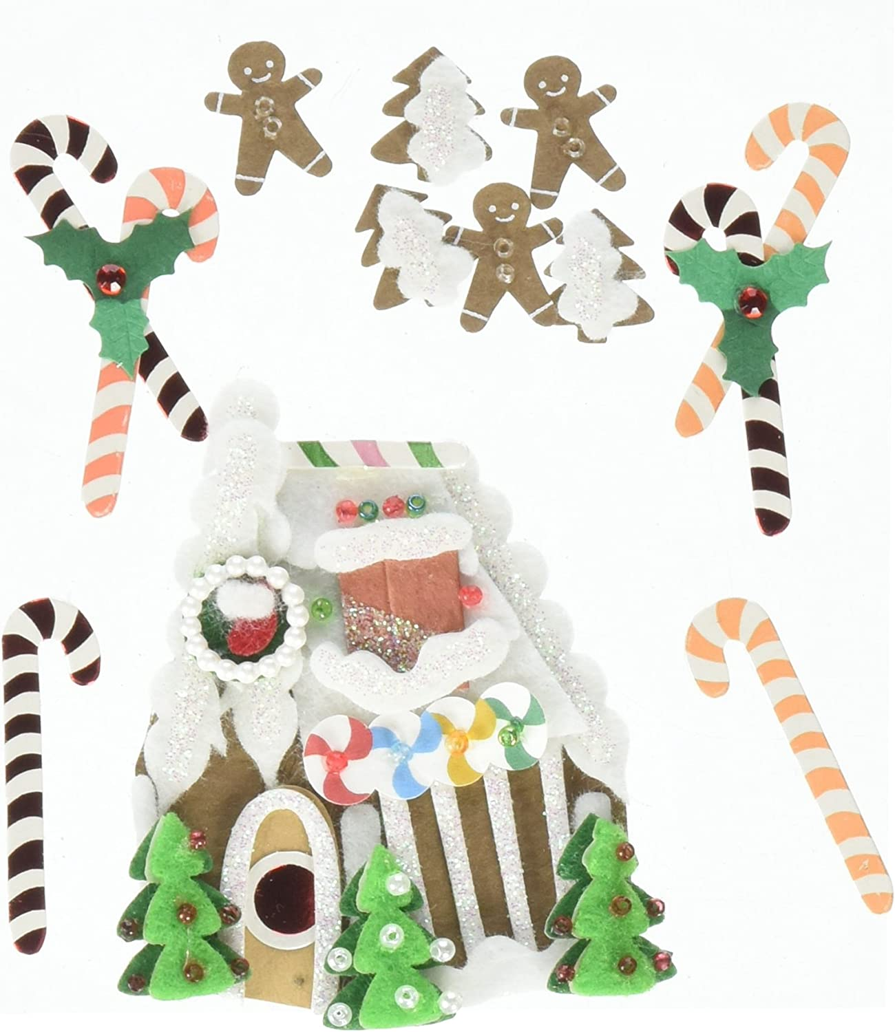 Jolees Boutique Themed Ornate Stickers Winter