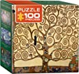 Eurographics Tree of Life by Gustav Klimt Mini Puzzle (100-Piece)
