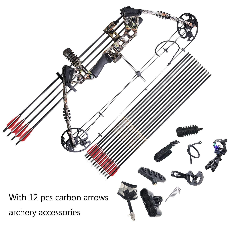 Noir 3Z Archery Arc Arc stabilisateur compos/é Arc recourb/é Arc Caoutchouc stabilisateur Accessoires fl/èches