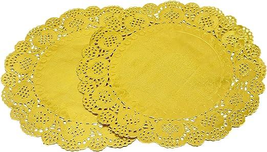 Amazon.com: 100 manteles individuales de papel de lámina ...